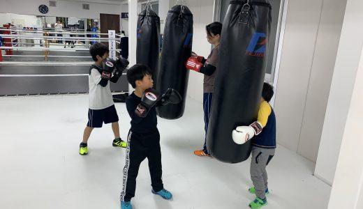 石橋ボクシングジム 2019/12/19